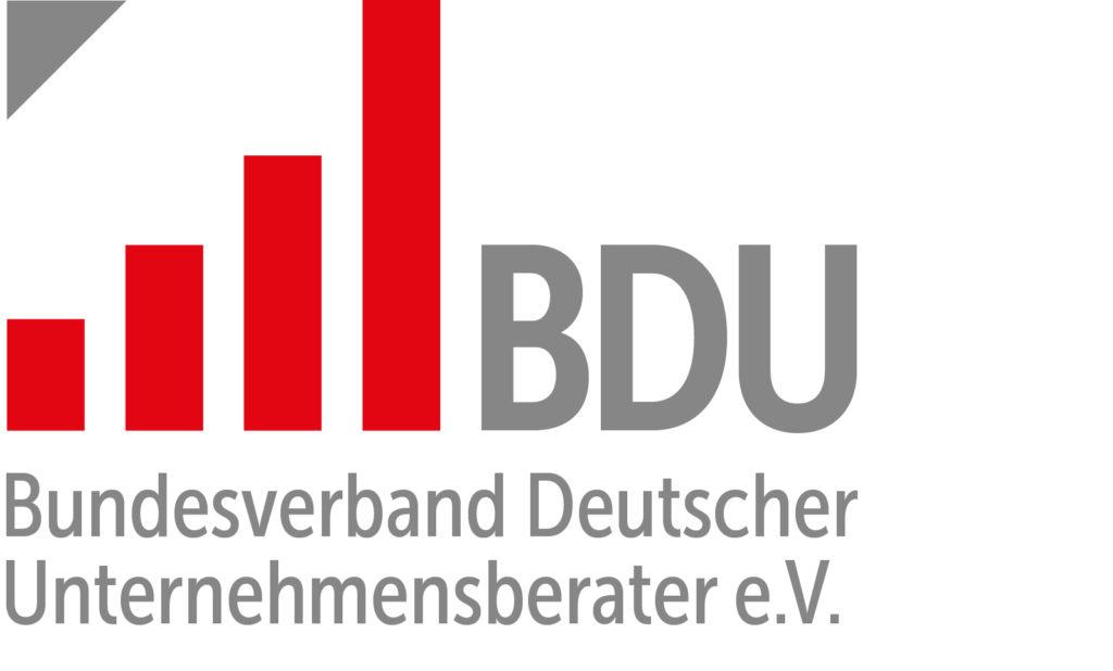 Bundesverband Deutscher Unternehmensberater BDU e.V_Logo